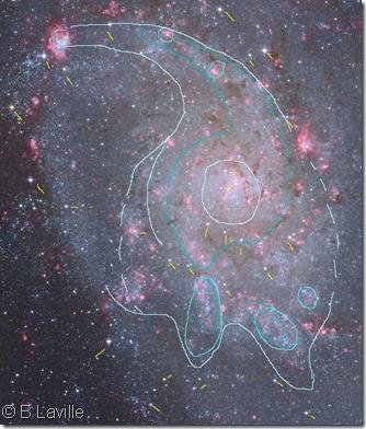 M 33  T254 BL nebs & Capella Obs