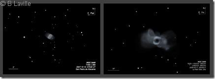 NGC 2440  T450 vs T635  BL