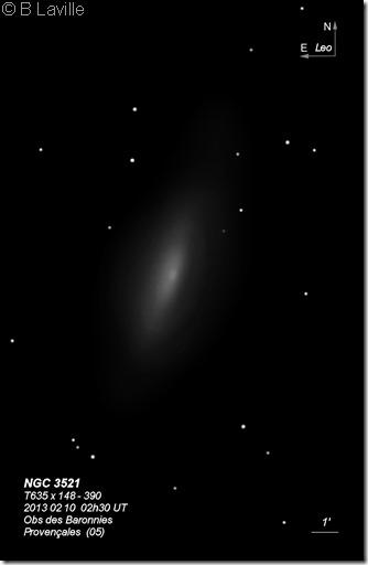 NGC 3521  T635  BL 2013 halo 2017 04 19