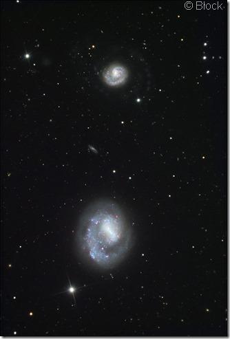 NGC 4618 25 Block & Bash
