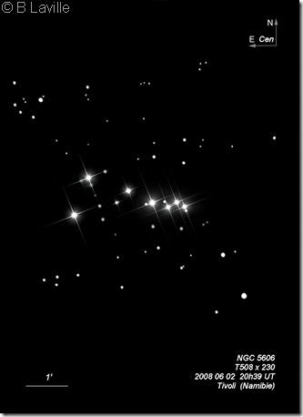 NGC 5606  T508  BL  Tivoli Namibie 2008 06 02