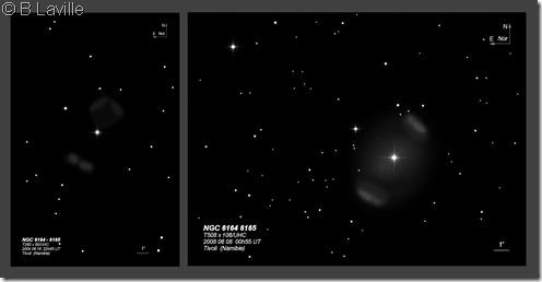 NGC 6164 65  T280 vs T508 BL