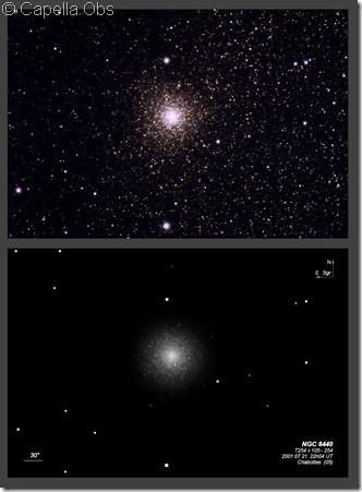 NGC 6440  T254 BL & Capella Obs