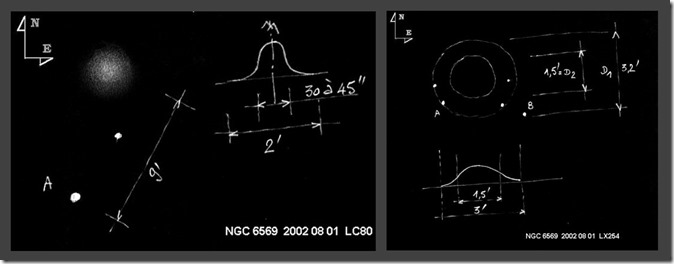 NGC 6569  L80 vs T254 BL croquis