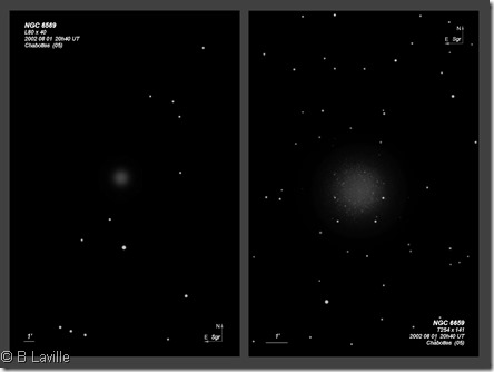NGC 6569  L80 vs T254 BL