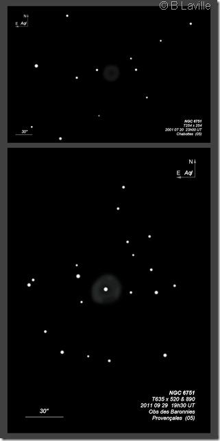 NGC 6751  T254 vs T635 BL