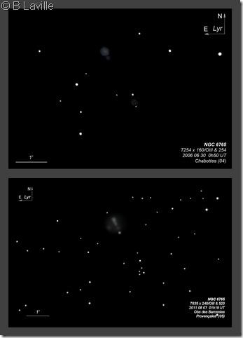 NGC 6765  T254 vs T635 BL