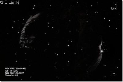 NGC 6960 92 95  T254  BL 1998 08 23
