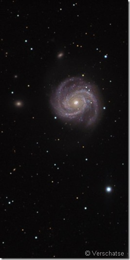 M 100 NGC 4323 28 Verschatse