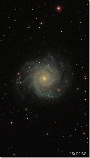 M 74 SDSS