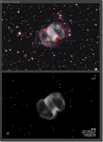 M 76  T635 BL 2014 & Astrokoop