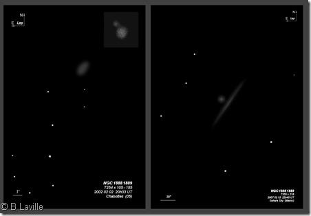 NGC 1888 1889  T254 vs T355 BL