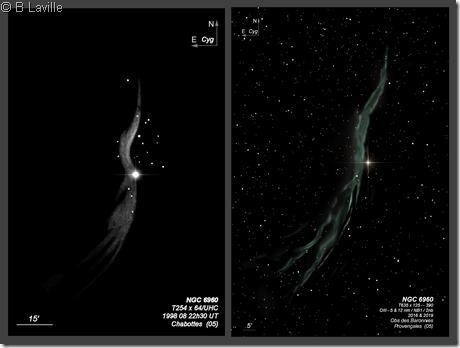 NGC 6960  T254 vs T635 2019 BL
