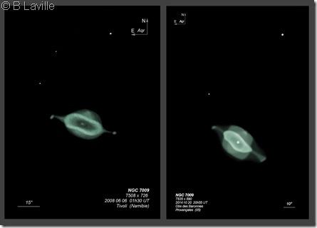 NGC 7009  T508 vs T635 BL