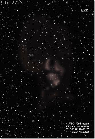 NGC 3582 region  T508  BL 2012 06 17