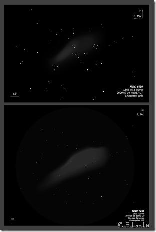 NGC 1499  L80 vs L100 BL