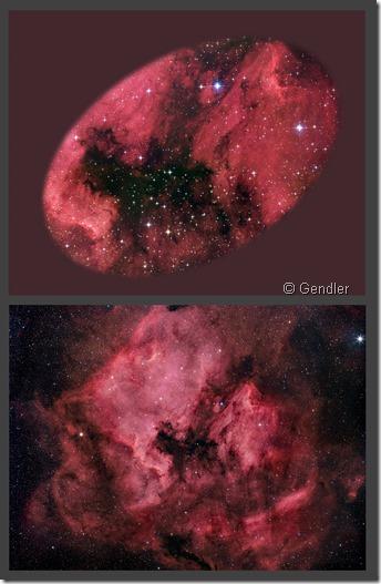 NGC 7000 Gendler
