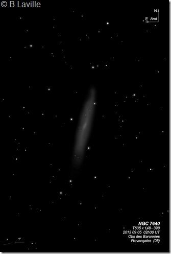 NGC 7640  T635  BL 2013 09