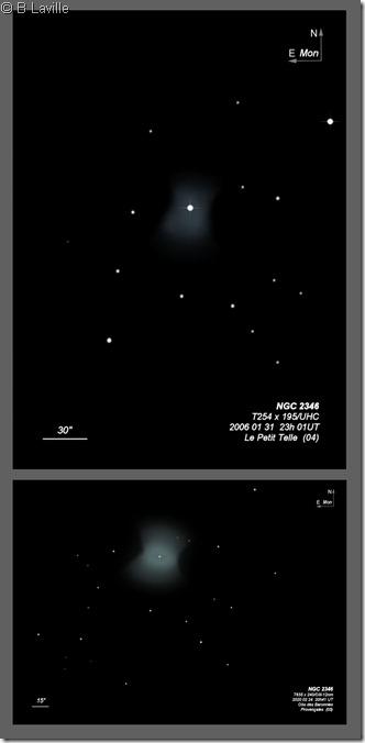 NGC 2346  T254 vs T635 BL