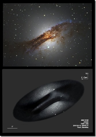 NGC 5128  T508 detail
