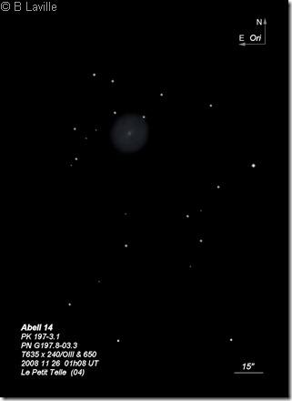 Abell 14  PN G197.8-03.3  T635  BL