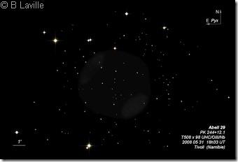 Abell 29  PK 244 12.1  T508  BL