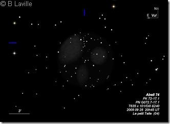 Abell 74  PN G072.7-17.1  T635  BL  PT