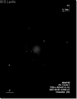 Abell 82  T254  BL 2007 09 09