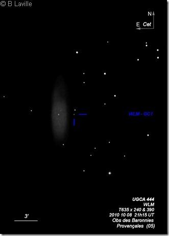 UGCA 444  WLM  T635  BL 2010 10 08