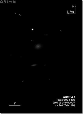NGC   1 & 2  T635  BL  2009 09 23