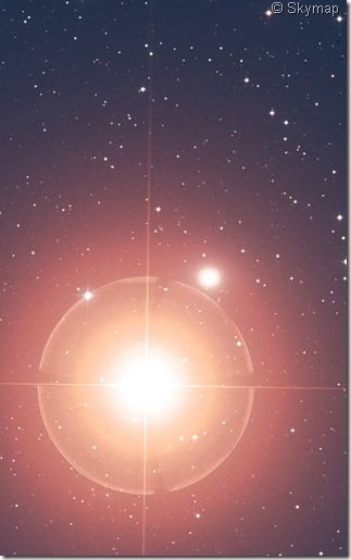 NGC 404 Skymap close