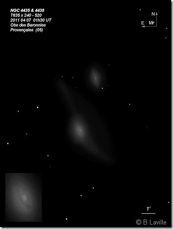 NGC 4435 38  T635  BL 2011 04 07 CS38