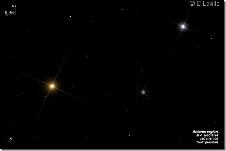 Antares region  L80  BL 2004