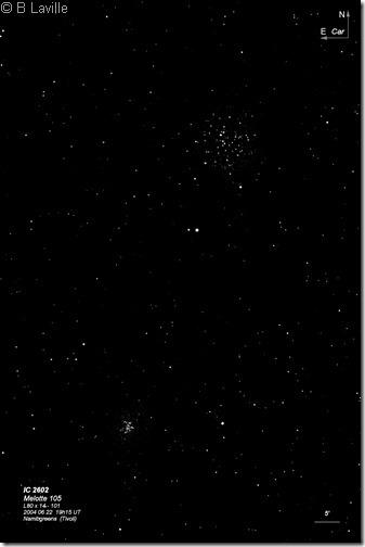 IC 2602  Mel 105  L80 BL 2004 06 22