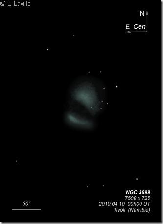 NGC 3699  T508  BL Tivoli 2010