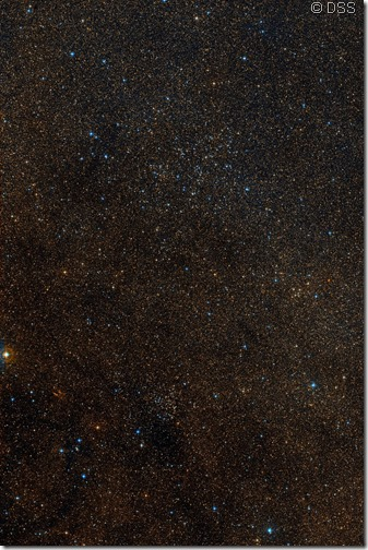 NGC 5822 5823 DSS