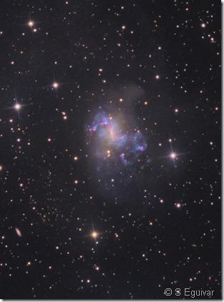 NGC 1313 S eguivar close