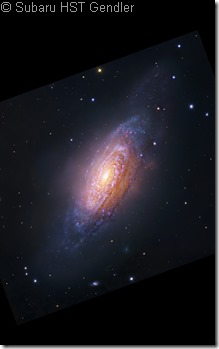NGC 3521 Subaru-HST Gendler