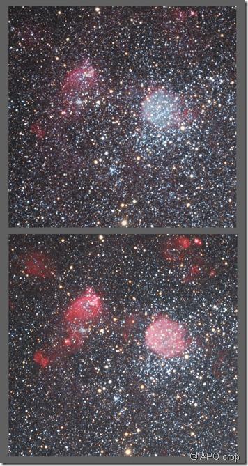 NGC 371  APO Ha