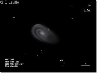 NGC 7205  T508  BL  Tivoli Namibie 2008
