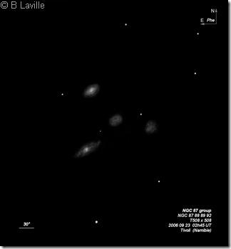 NGC   87 88 89 92  T500  BL  2006 09  Namibie Tivoli