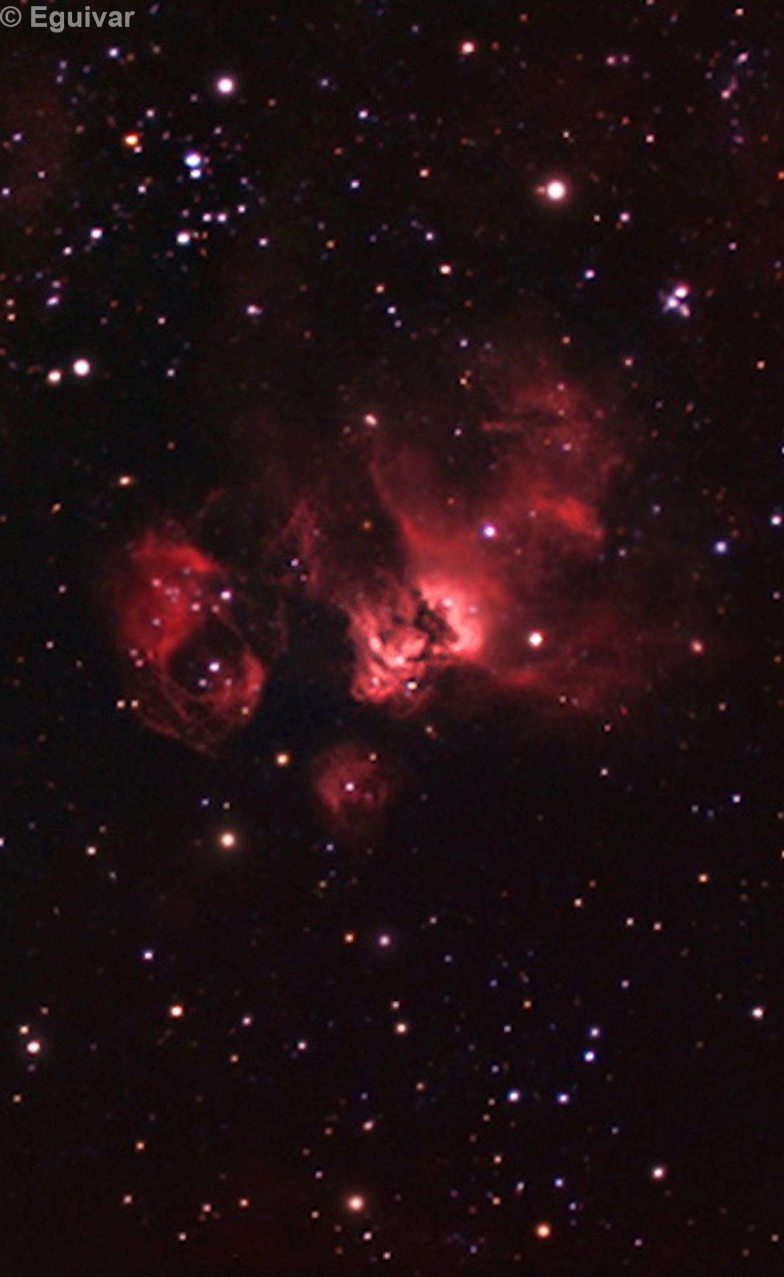 LMC N 59  NGC 2029 2032 2035 2040