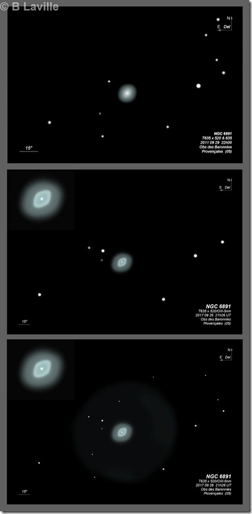 NGC 6891  T635 BL 2011 2017 2020 medium