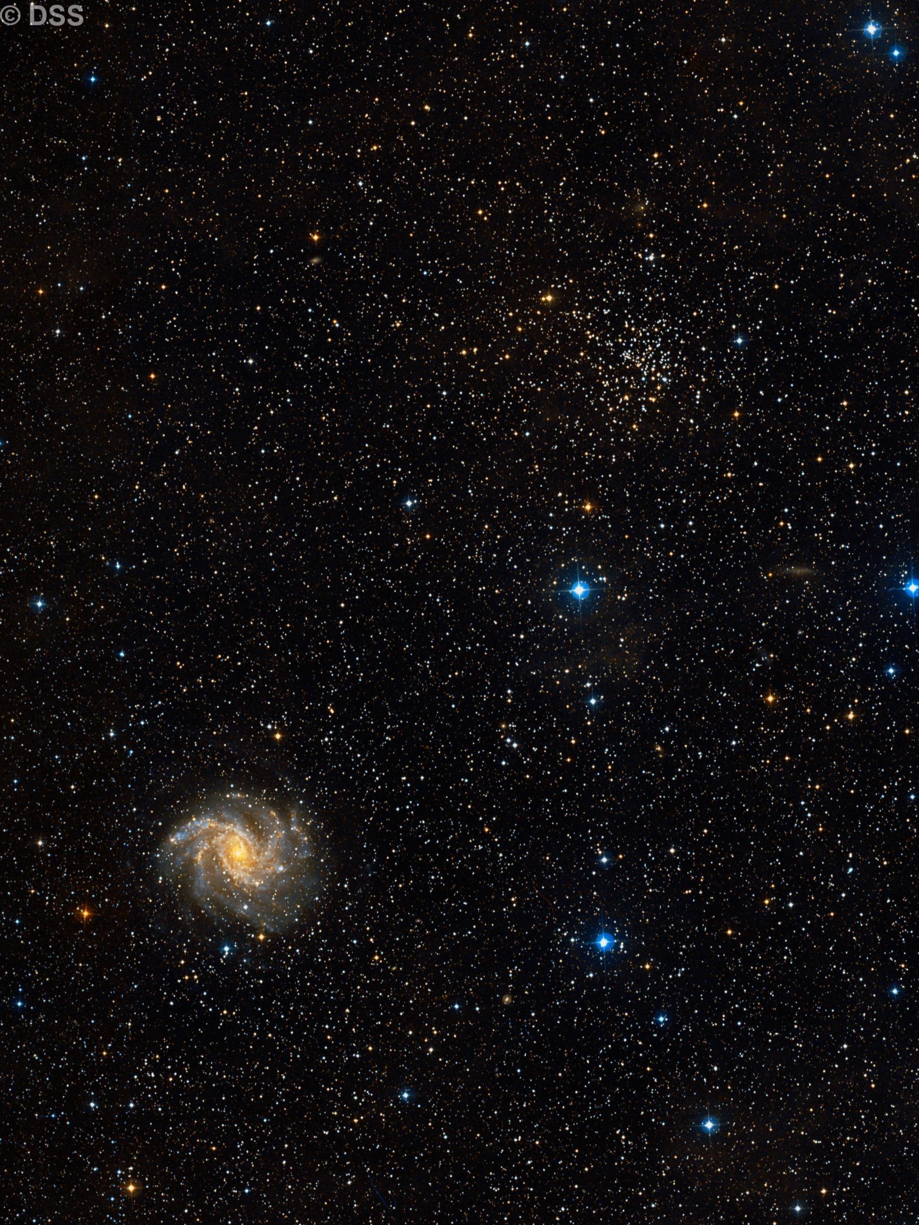 NGC 6939 & 6946