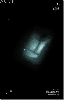 NGC 7027  T635  BL  2009 09 18