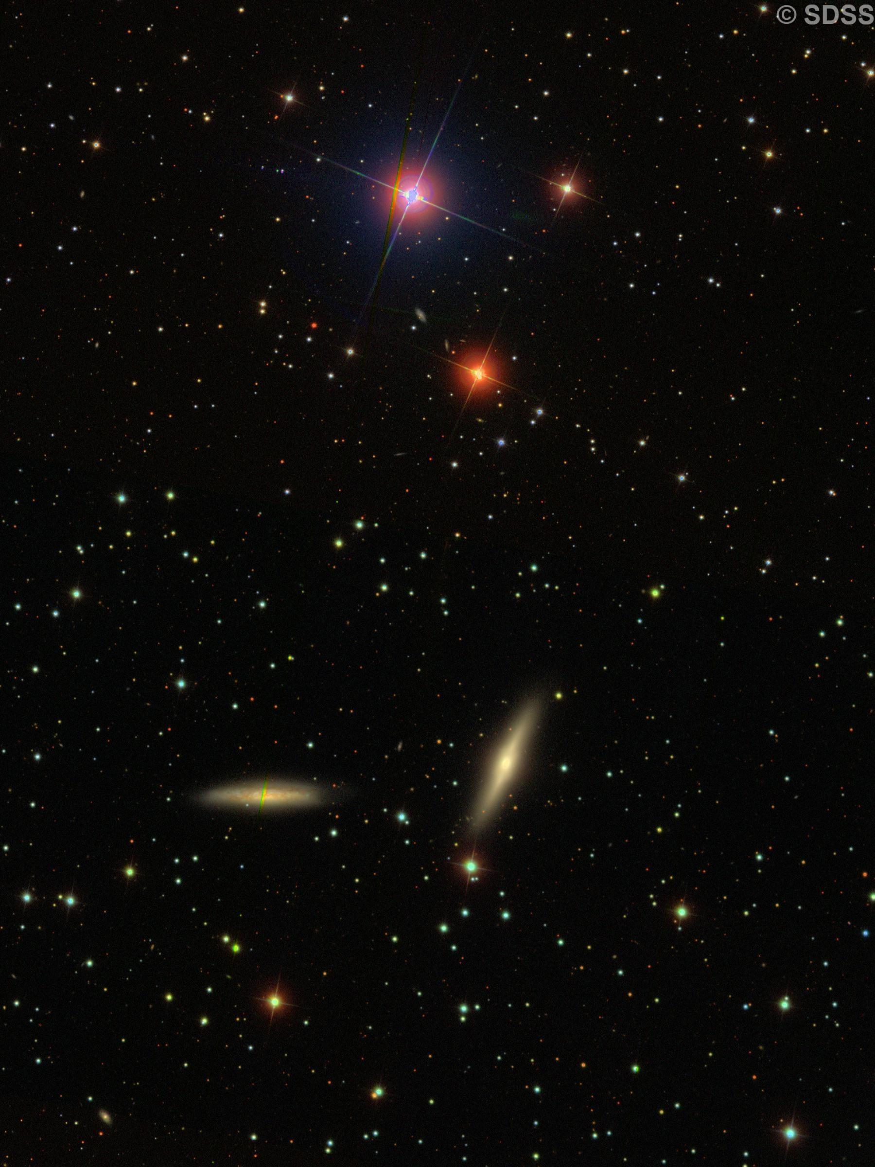 NGC 7332 & NGC 7339