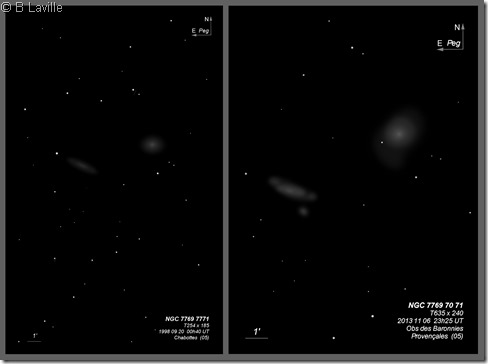 NGC 7769 70 71  T254 vs T635
