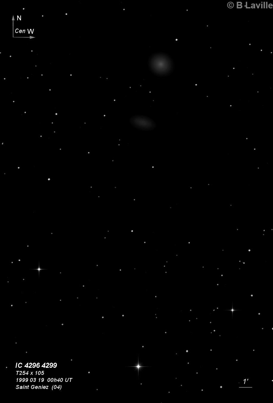 IC 4296 & IC 4299
