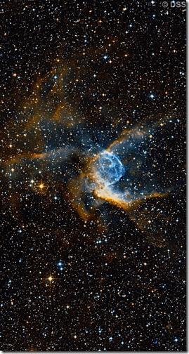NGC 2359 Wikisky DSS2 narrow