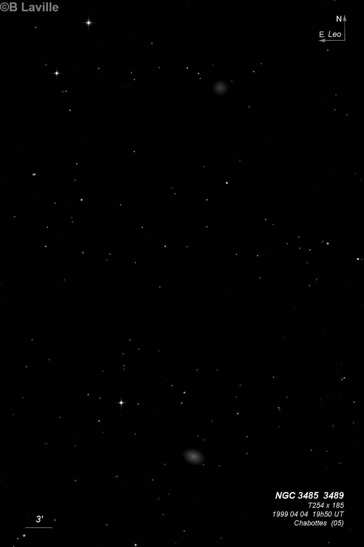 NGC 3485 & NGC 3489